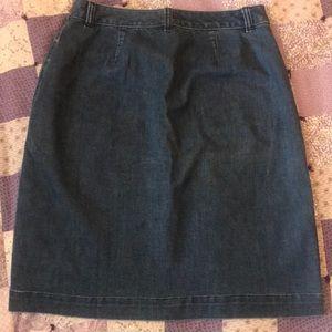 Lands' End Skirts - Lands End denim skirt